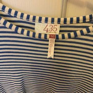 435 Tween Striped Long Sleeve Shirt